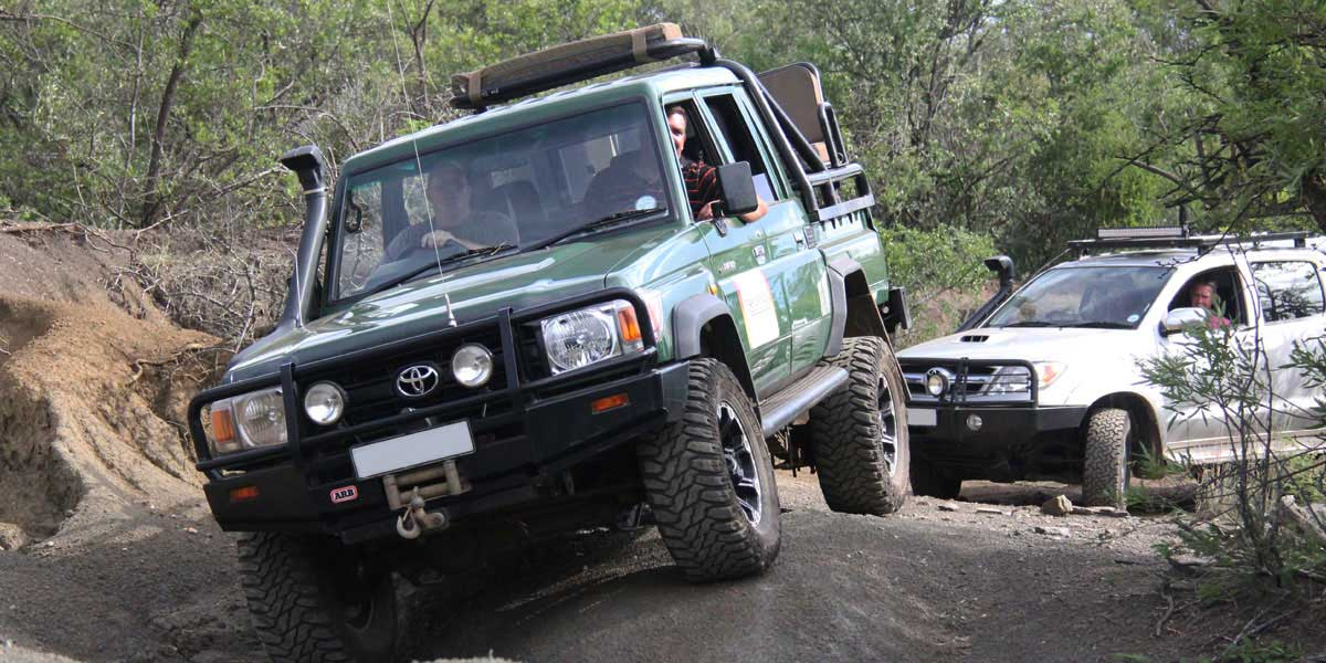 Guided 4x4 trail